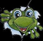 Logo kikker